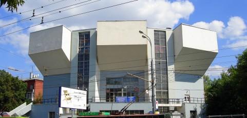 Дом культуры им. И.В. Русакова, 1927-1929г.г., архитектор Мельников К.С.